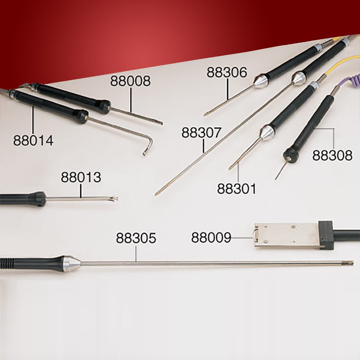 Handheld Surface and Insertion Thermocouple Probes