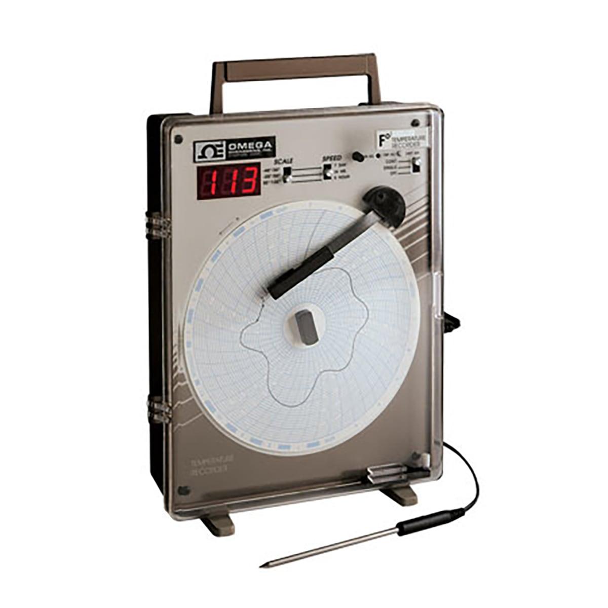 Enregistreurs graphiques circulaires, diagramme Ø 150mm<br> de température, de pression, de tension/courant ou d'événements