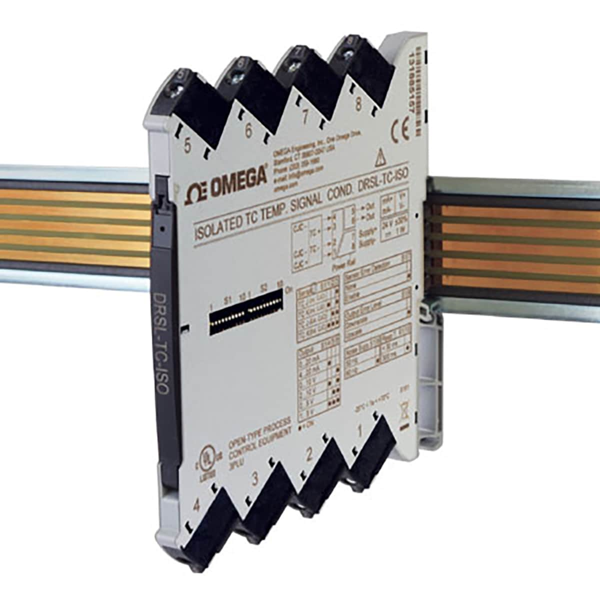 DIN Rail Thermocouple Input Signal Conditioners   Low Profile