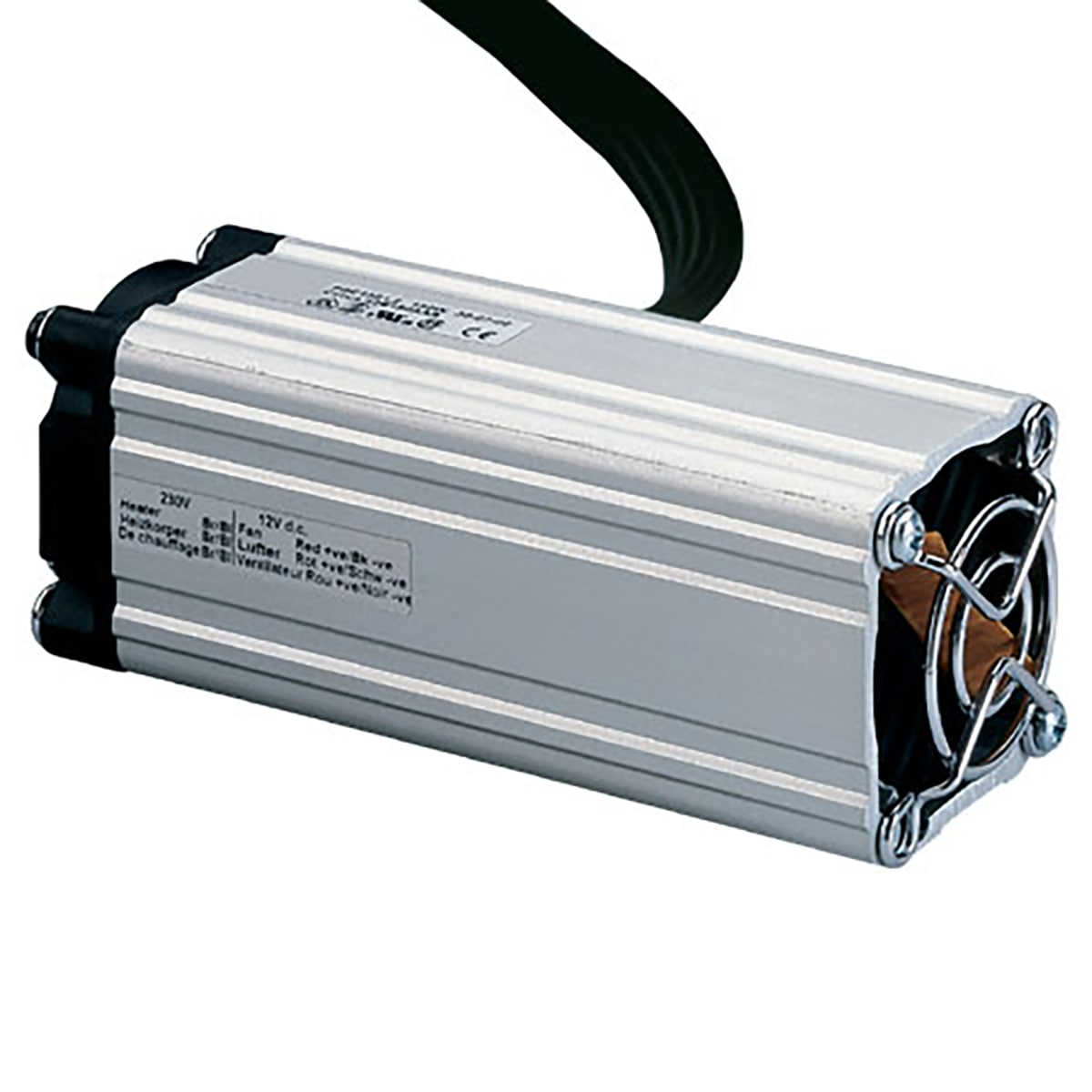 Compact Enclosure Fan Heaters from 60 to 230W