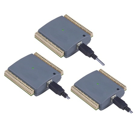 8-Channel Voltage Input USB Data Acquisition Modules