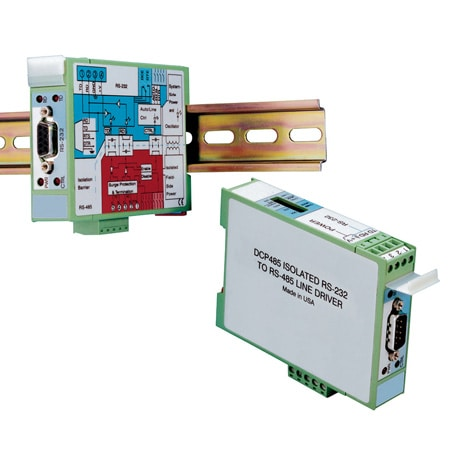 Fully Isolated RS-232/RS-485 Converters