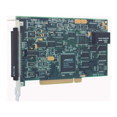 Medium Speed, PCI Bus, 16-Channel Analog Input Board with D/A and Digital I/O
