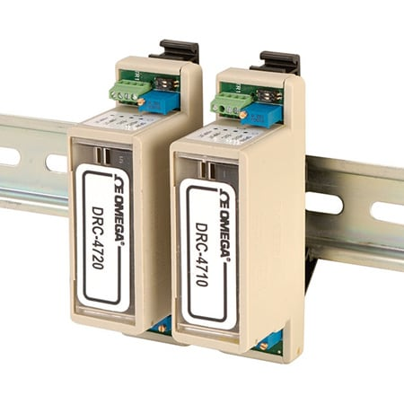 DIN Rail Bridge Input Conditioners for Load Cell or Strain Gage