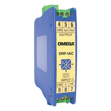 DIN Rail DC or AC Current Input Signal Conditioners
