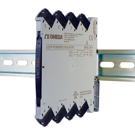 DIN Rail Input Loop Powered Isolators w/ 1 or 2 Channel Models
