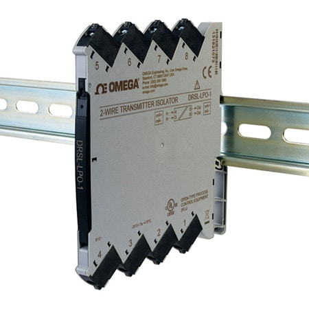 DIN Rail Output Loop Powered Isolators w/ 1 or 2 Channel Models