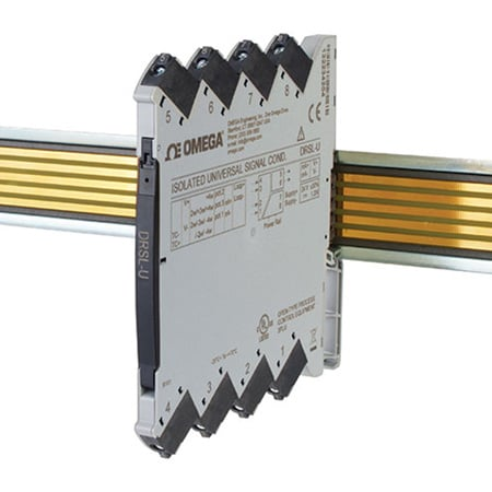 Isolated Universal Input DIN Rail Signal Conditioner