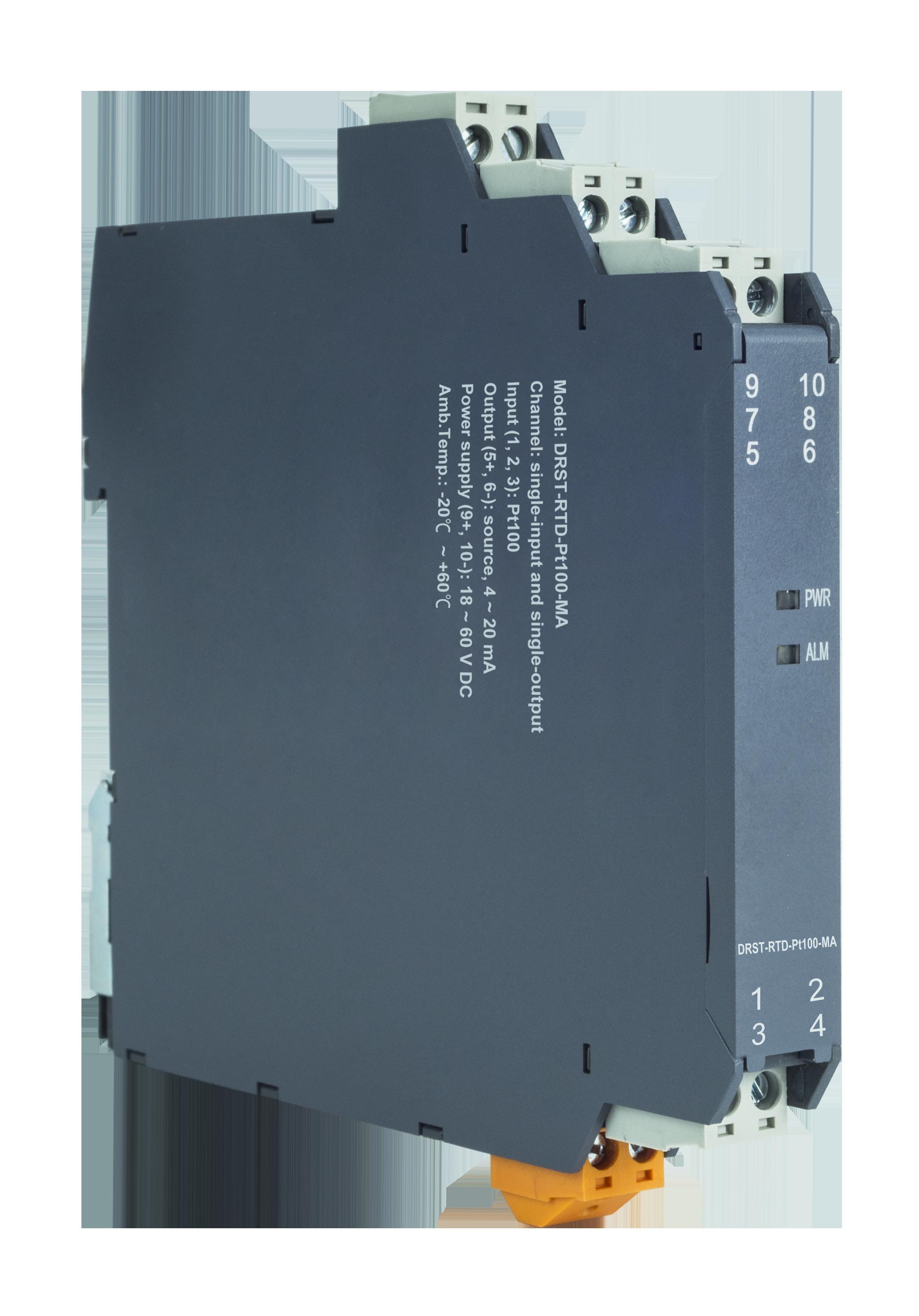 DIN Rail RTD Signal Transmitter