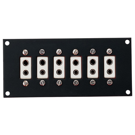 High Temperature Jack Panels for Standard Size Ceramic Connectors