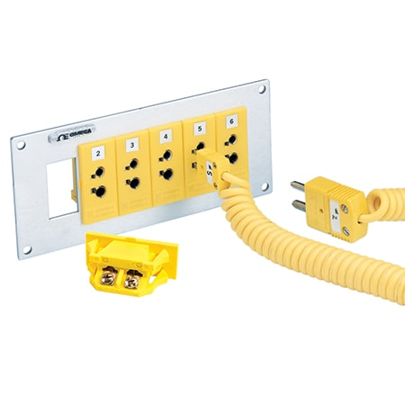 Snap-In Panel Jacks for Standard Size Connectors