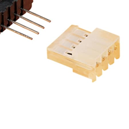 Connectors, Push-On Style, Crimp Contact