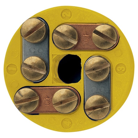 Round Terminal Blocks, -29 to 220°C Temperature Rating