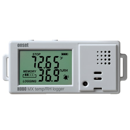 HOBO MX Bluetooth Temperature and Humidity Logger with Display