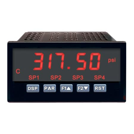 1/8 DIN Digital Panel Meters For Process Inputs