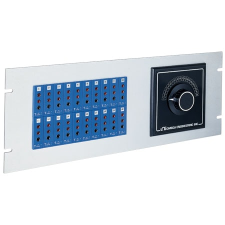 19 inch Jack Panels 3-Prong Connectors