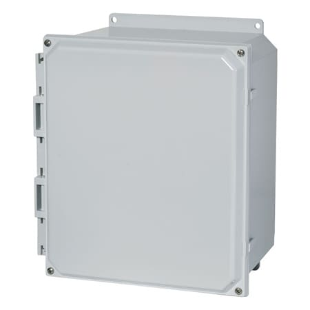 Polycarbonate Electrical Enclosures with Solid or Clear Covers