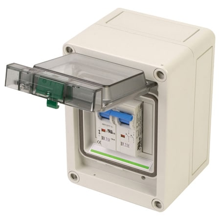 NEMA 4X Enclosures for DIN Rail Mount IEC Components