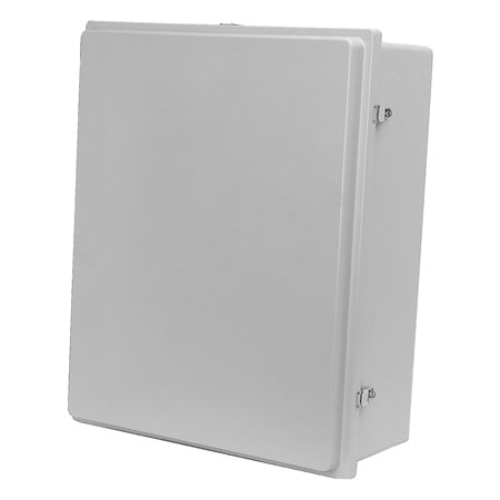 "NEMA 4X (IP66) Fiberglass Enclosures from 24 x 20"" to 30 x 24"""