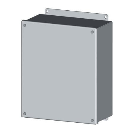 NEMA 4 Screw Cover Electrical Enclosures, in sizes 4x4 to 16x14