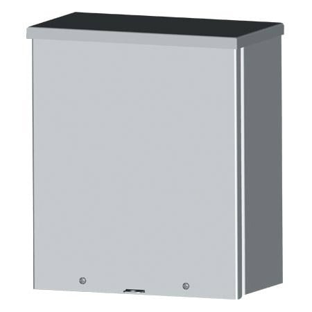 NEMA 3R Outdoor Electrical Enclosure sizes 4 x 4 to 12 x 12
