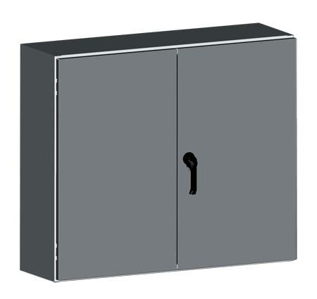 NEMA 3R/4 2-Door Wall-Mounted Electrical Enclosures & Cabinets