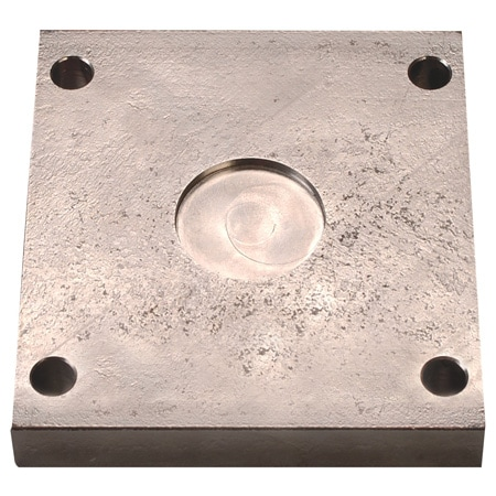 Mounting Plates for LC1001/LC1011 Series Load Cells, Nickel Plated Steel or 17-4 pH Stainless Steel