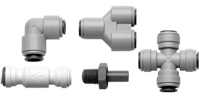"""""""SNAP-IN"""" FITTINGS FOR FLEXIBLE AND COPPER TUBING"""
