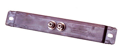 Chrome Steel Strip Heaters Centered Terminals