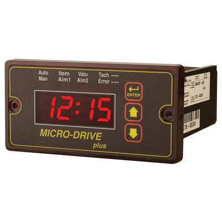 Programmable DC Speed Control with PID - Closed Loop Feedback and Digital LED Display for DC Motors Rated to 2 HP