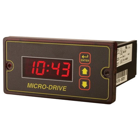 Programmable DC Speed Control with Closed Loop Feedback and Digital LED Display for DC Motors Rated to 2 HP