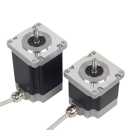 Washdown Stepper Motors for Wet and Dusty Environments