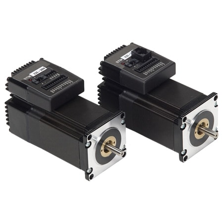 Integrated Stepper Drives/Motors with Advanced Features and Control Options