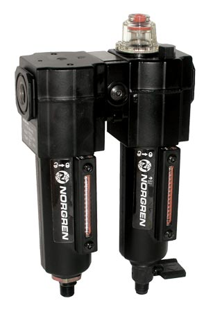 Norgren Excelon® Filter-Lubricator Combination Units for Compressed Air Systems