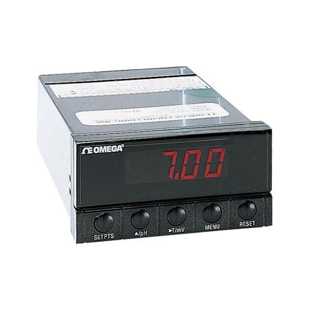 "1/8"" DIN Panel Mount pH Controller"