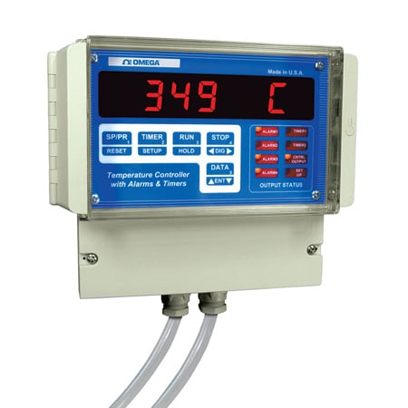 Wall-Mount Programmable Temperature Controller