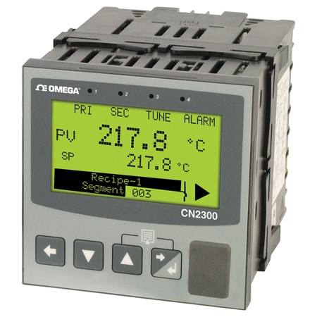 1/4 DIN Ramp/Soak Advanced Temperature/Process PID Controller