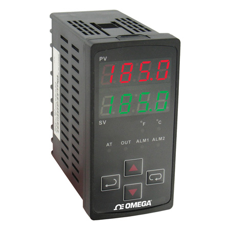 1/8 DIN Vertical Temperature Controllers with Autotune and RS485
