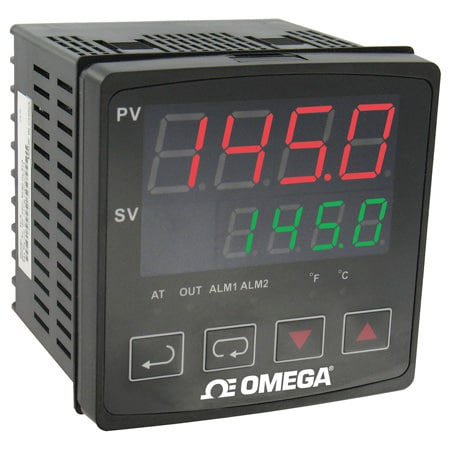 1/4 DIN Temperature Controllers with Autotune, Alarms and RS485