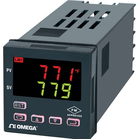 Temperature/Process Limit Controllers 1/16 Din
