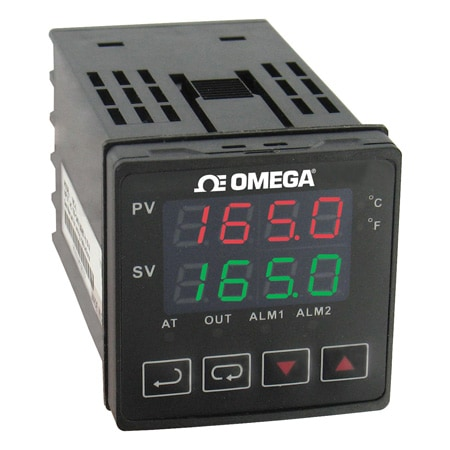 1/16 DIN Temperature Controllers with Autotune, Alarms and RS485