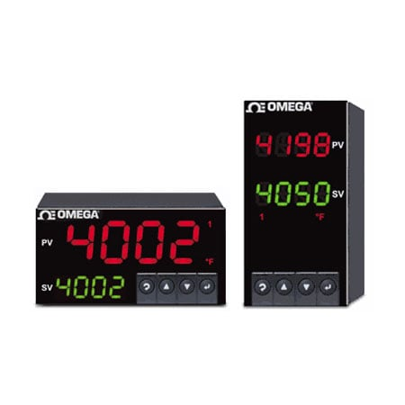 1/8 DIN Dual Display Temperature, Process and Strain PID Controllers