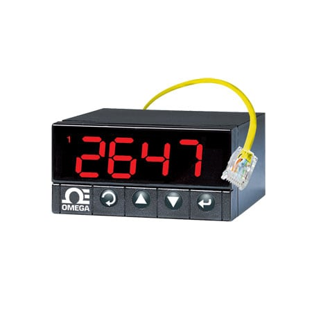 i-Series 1/8 DIN Programmable Strain/Process PID Controllers and Meters with RS-232 & RS-485 Communications Featuring Totally Programmable Color Display