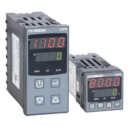 1/16 and 1/8 DIN Vertical Plastics Extrusion Process Controllers