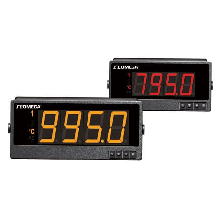 Large Display Meters and Controllers For Temperature and Process