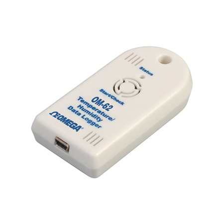 Compact USB Temperature and Relative Humidity Data Logger