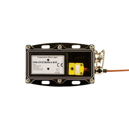 Thermocouple Temperature Data Logging System with Waterproof Enclosure and Remote Probe
