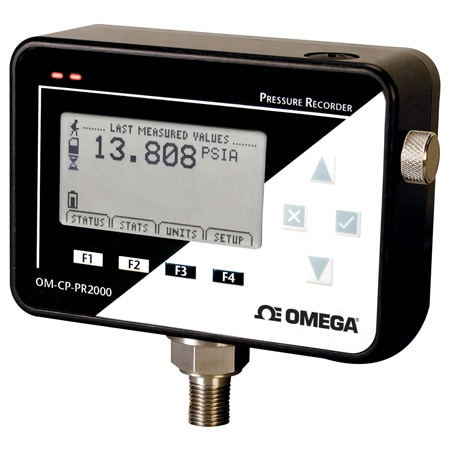Pressure Data Logger with LCD Display
