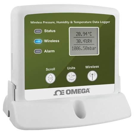 Wireless Pressure, Humidity and Temperature Data Loggerwith Display
