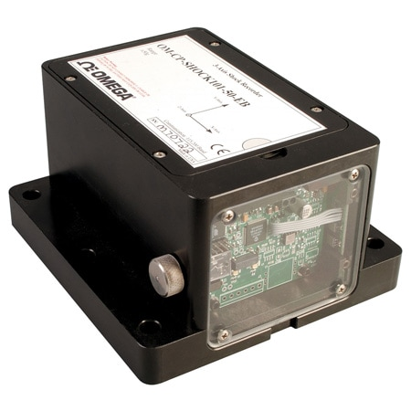 Tri-Axial Shock Data Logger with Extended Battery Life